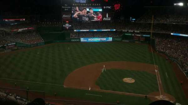 Nationals Park, section: 409, row: E, seat: 24