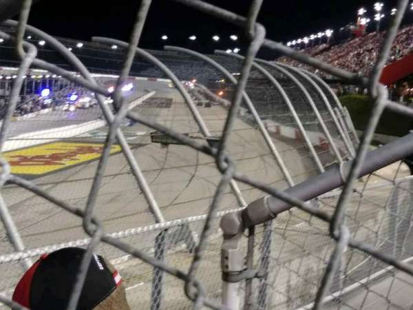 Darlington Raceway, section: K, row: 3, seat: 25
