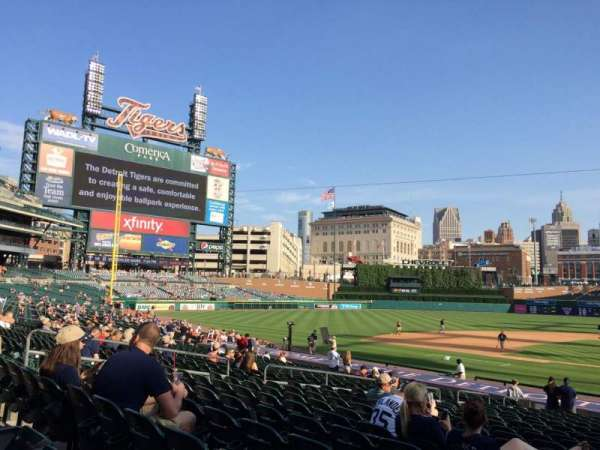 Comerica Park, section: 132, row: 28, seat: 1