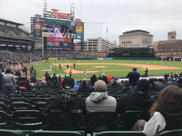 Comerica Park, section: 126, row: 26, seat: 10