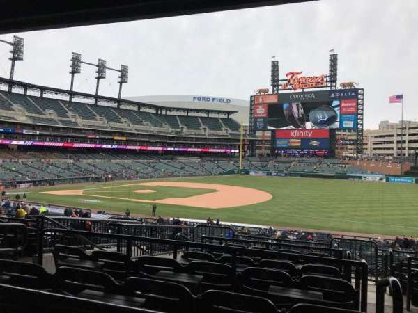 Comerica Park, section: 117c, row: G, seat: 1