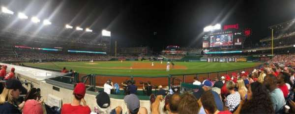 Nationals Park, section: 130, row: F, seat: 15