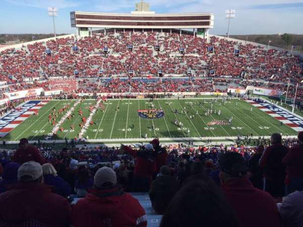 Liberty Bowl Memorial Stadium Section 104 Home Of Memphis