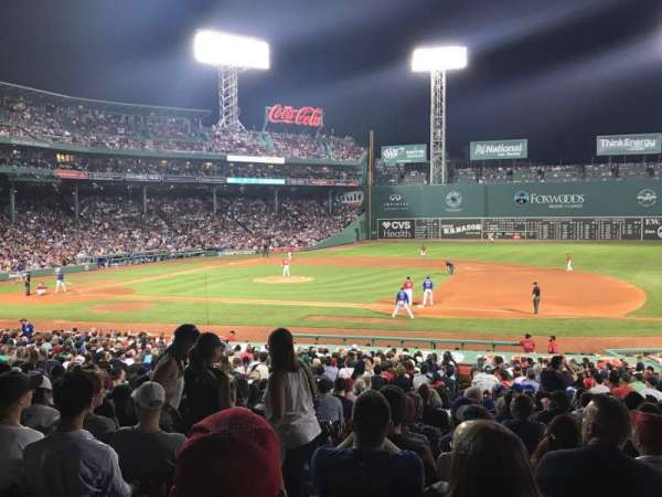 Fenway Park, section: Loge Box 111, row: DD, seat: 5