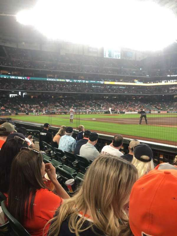 Minute Maid Park, section: 128, row: 4, seat: 11