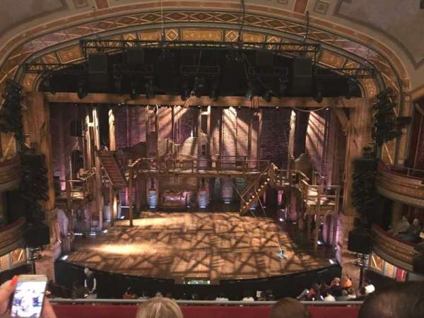 Richard Rodgers Theatre, section: Front Mezzanine C, row: D, seat: 106