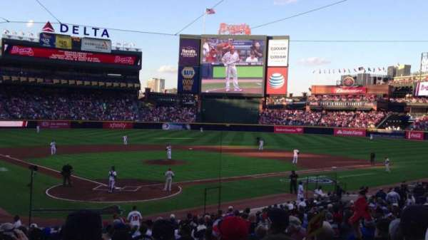 Turner Field, section: 105, row: 23, seat: 108