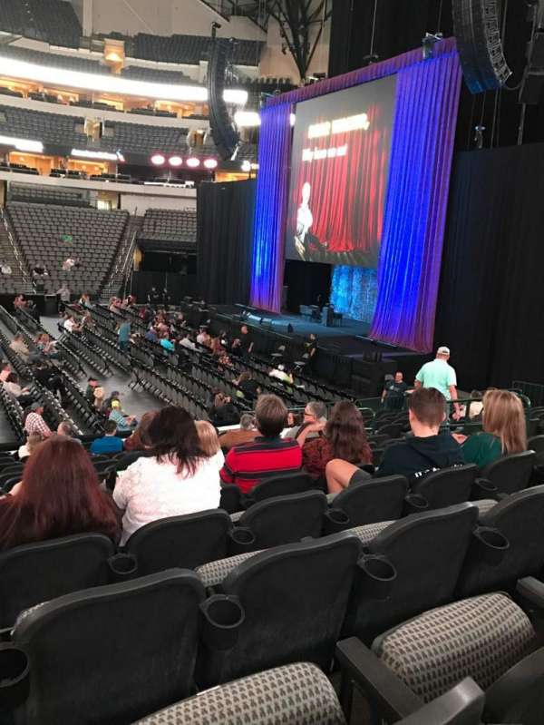American Airlines Center, section: 105, row: O, seat: 11
