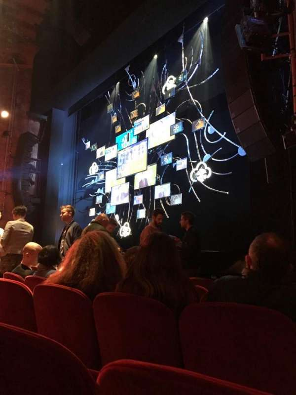 August Wilson Theatre, section: Orchestra R, row: F, seat: 18