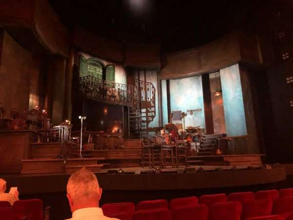 Walter Kerr Theatre, section: Orchestra C, row: H, seat: 118