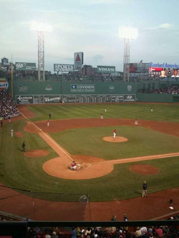 Fenway Park, section: emc , row: 1