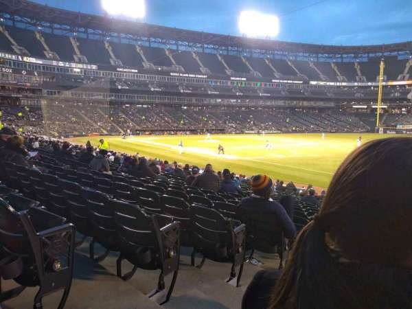 Guaranteed Rate Field, section: 116, row: 20, seat: 7