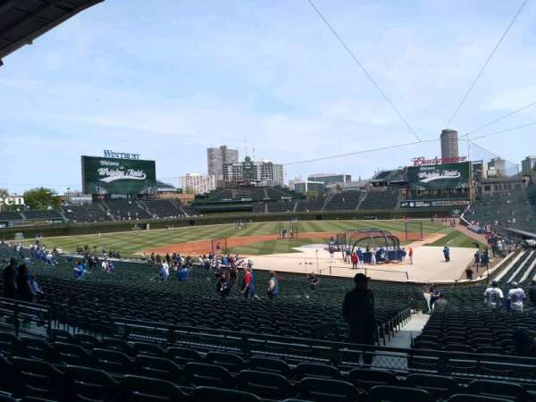 Wrigley Field, section: 215, row: 6, seat: 11