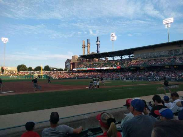 Victory Field, section: 107, row: E, seat: 22