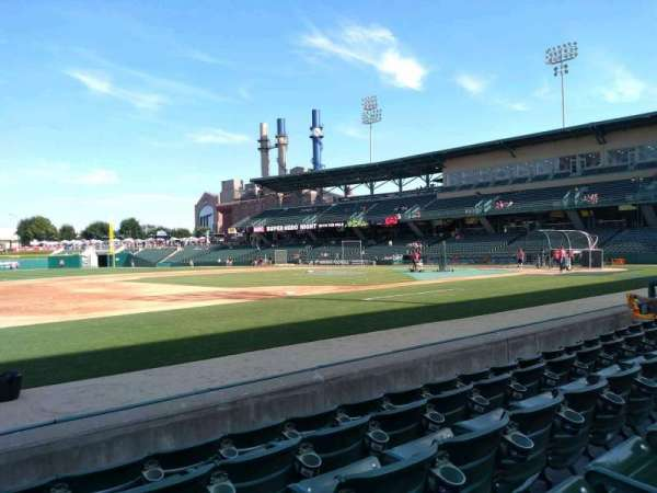 Victory Field, section: 107, row: E, seat: 23