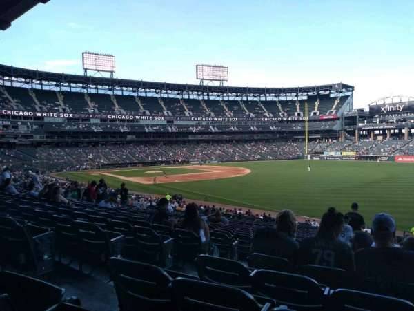 Guaranteed Rate Field, section: 111, row: 35, seat: 7