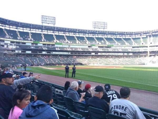 Guaranteed Rate Field, section: 115, row: 4, seat: 1