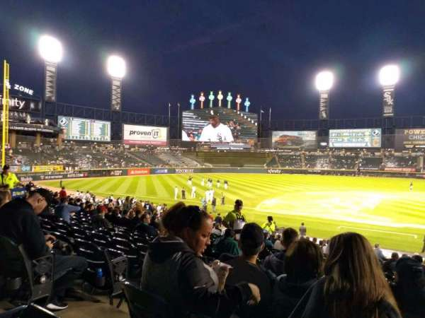 Guaranteed Rate Field, section: 139, row: 26, seat: 7