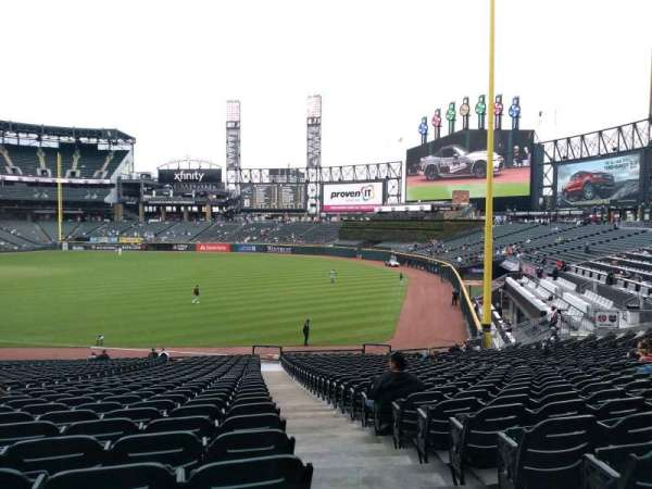 Guaranteed Rate Field, section: 112, row: 35, seat: 1