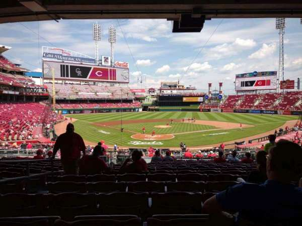 Great American Ball Park, section: 124, row: N, seat: 15