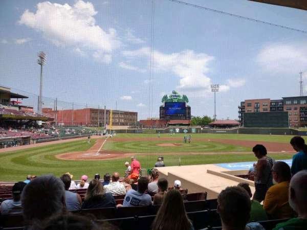 Day Air Ballpark, section: 108, row: 15, seat: 6