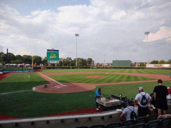 ABC Supply Stadium, section: 105, row: F, seat: 9