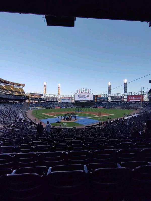 Guaranteed Rate Field, section: 131, row: 35, seat: 11