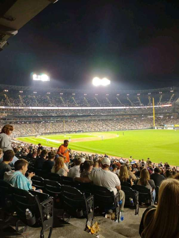 Guaranteed Rate Field, section: 110, row: 34, seat: 25