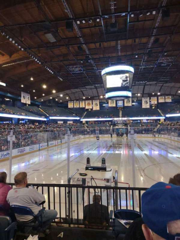 Allstate Arena, section: 114, row: E, seat: 22