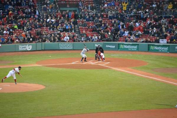 Fenway Park, section: Green Monster 7, row: 1, seat: 1