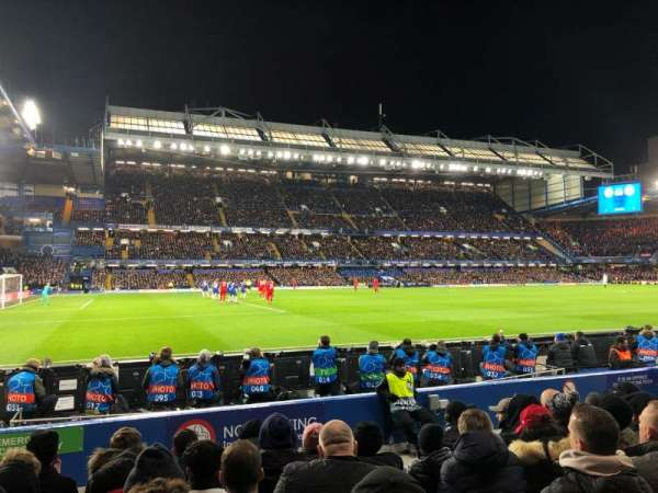 Stamford Bridge, section: West Stand Lower 8, row: 8, seat: 201