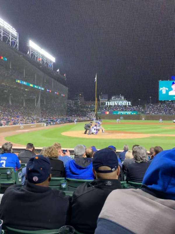 Wrigley Field, section: 21, row: 9, seat: 5