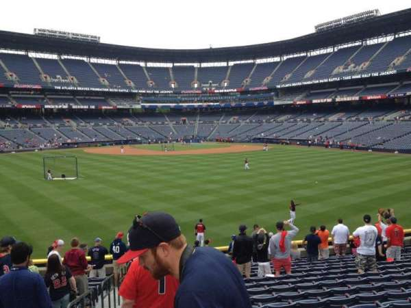 Turner Field, section: 148, row: 28, seat: 1