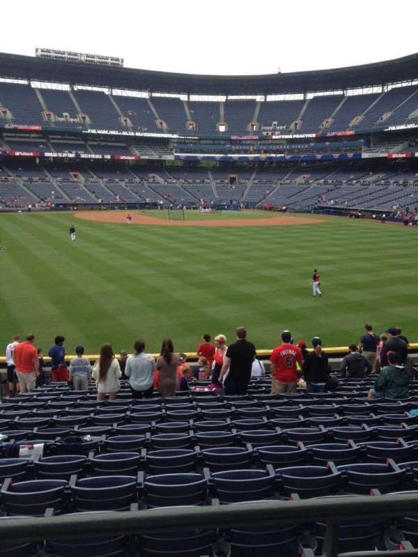 Turner Field, section: 146, row: 28, seat: 5