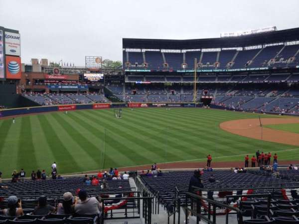 Turner Field, section: 224, row: 10, seat: 101