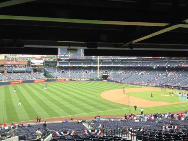 Turner Field, section: 222, row: 17, seat: 104