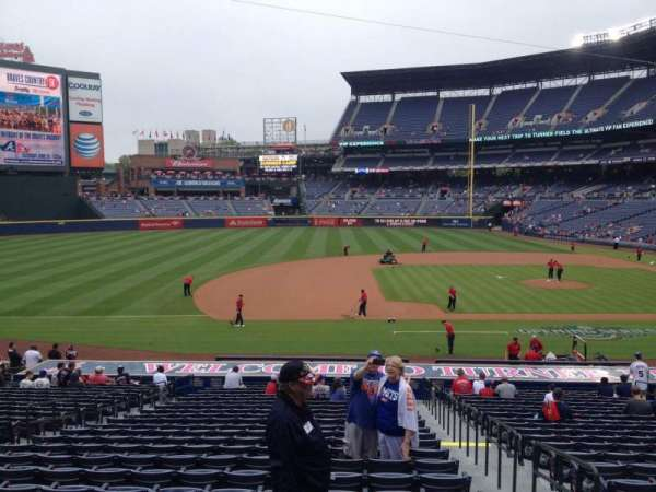 Turner Field, section: 116, row: 28, seat: 102