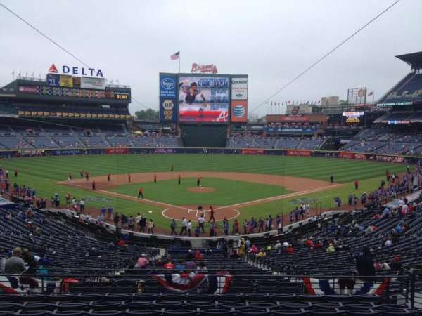 Turner Field, section: 201, row: 10, seat: 110