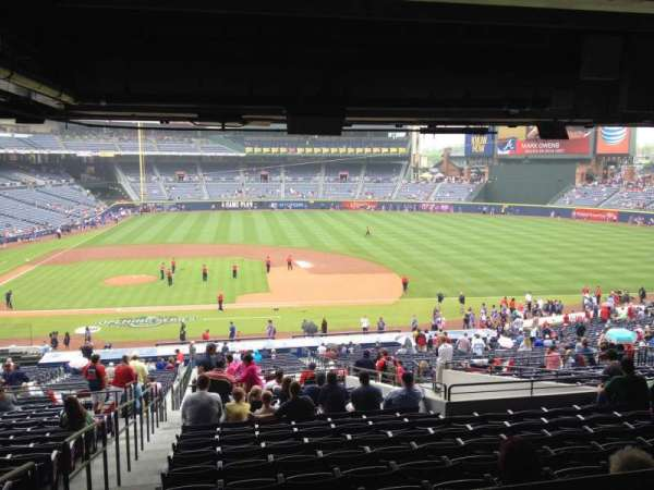 Turner Field, section: 211, row: 17, seat: 1