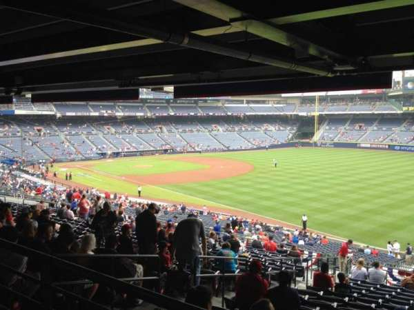Turner Field, section: 225, row: 17, seat: 4