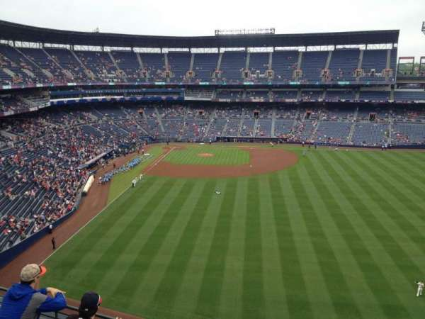 Turner Field, section: 437, row: 4, seat: 1