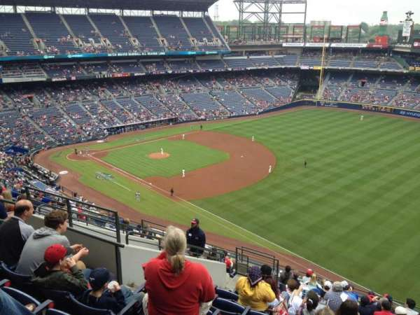 Turner Field, section: 421, row: 14, seat: 9