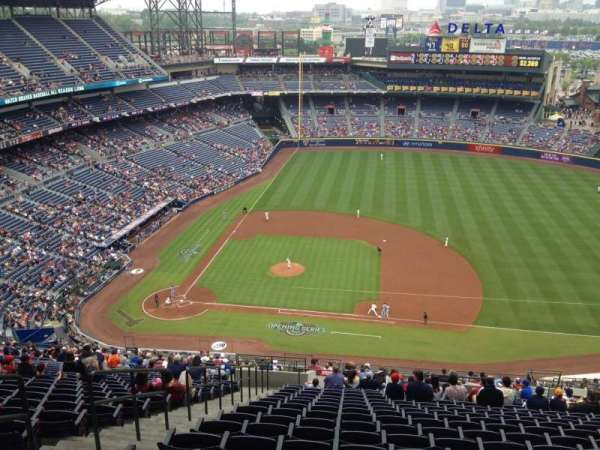 Turner Field, section: 411, row: 25, seat: 4