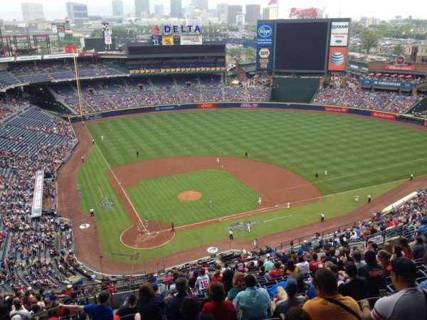 Turner Field, section: 405, row: 24, seat: 3