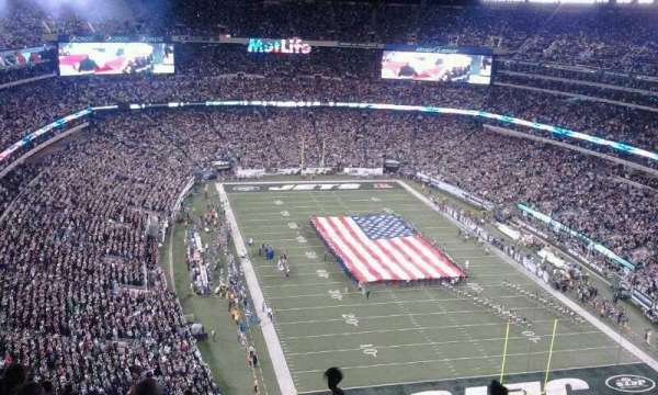 MetLife Stadium, section: 329, row: 18, seat: 12 -13