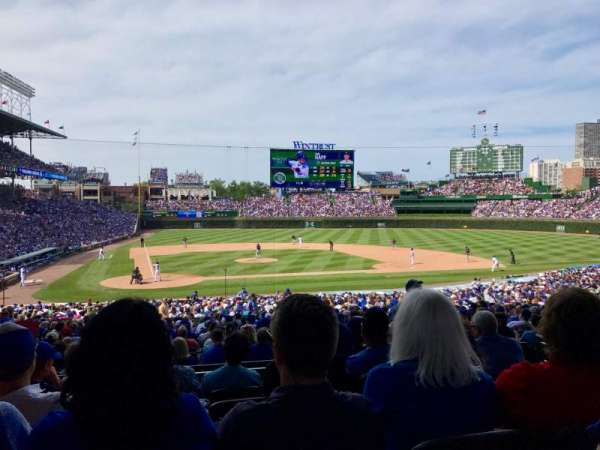 Wrigley Field, section: 126, row: 6, seat: 4