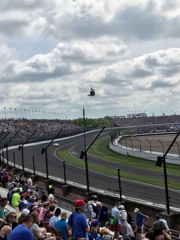 Indianapolis Motor Speedway, section: Northwest Vista 33