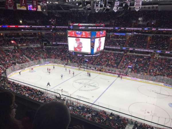 Capital One Arena, section: 402, row: 2