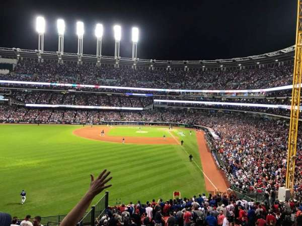 Progressive Field, section: 180, row: 15