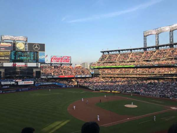 Citi Field, section: 330, row: 4, seat: 8
